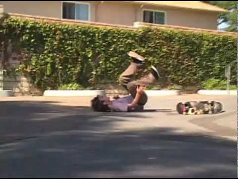 "John Rattray 2006 SYN Skateboard Clips ""Start To Finish"" Polejam Rock To Fakie"