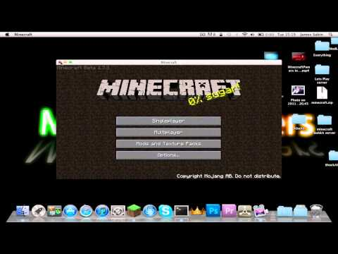 How To Install The Aether Mod For Minecraft 1.7.3 (Mac lion and snow leaped)