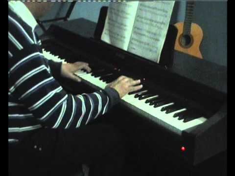 Jab Koi Baat Bigad Jaye On Piano( Rajeev Kumars Music Academy...