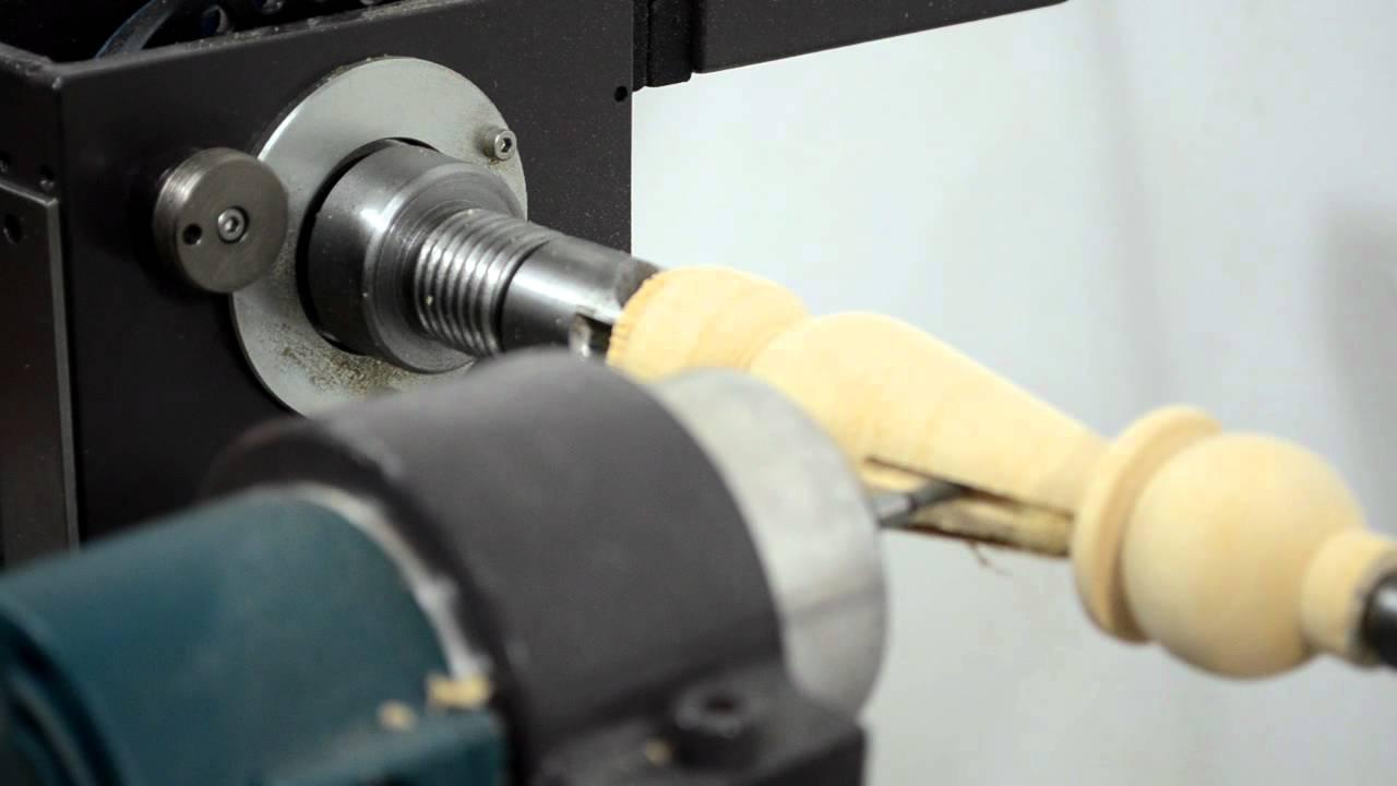 MegaTurn Woodturning Lathe: Indexing and Fluting Process ...
