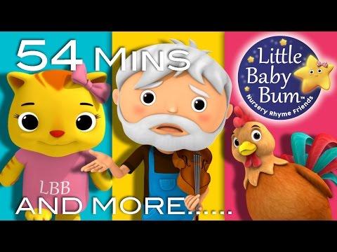Nursery Rhyme Videos | Baby Songs | Compilation from LittleBabyBum! | Live Stream!