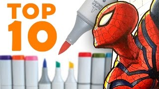 TOP 10 TIPS for COPIC MARKERS!