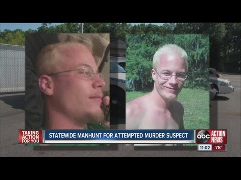 statewide manhunt for attempted murder suspect