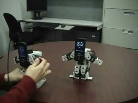 Callo Robot #02 - Gesture Messaging
