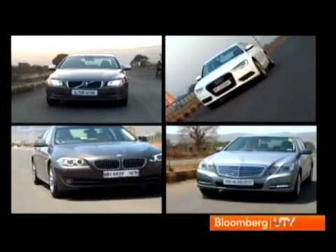 2012 Audi A6 Vs Mercedes E220 CDI Vs BMW 520D Vs Volvo S80 D3 | Comparison Test | Autocar India