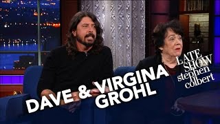Dave Grohl's Mom Virginia Talks About Raising A Rockstar Child