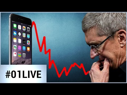 Pourquoi Apple vend moins d'iPhone (Replay 01Live Hebdo #99)
