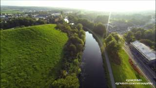 Bonnybridge from above