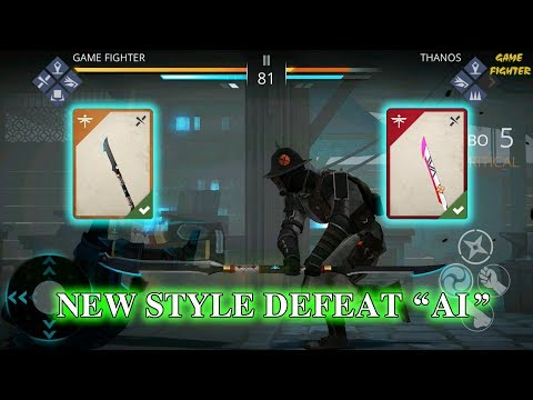 Shadow Fight 3: Glaive - Best Spamming Weapon - New Style Defeat Ai √
