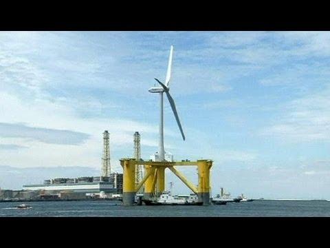 Fukushima um parque eólico