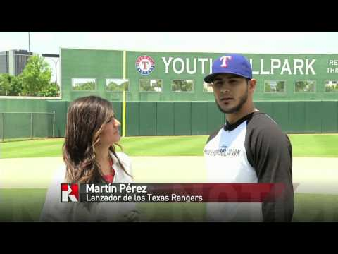 Azteca Texas Newscast: Texas Rangers Martin Perez and Million Dollar Arm