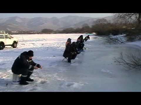 зимняя рыбалка на сучане
