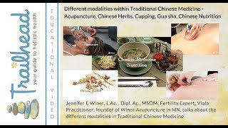 Different Modalities in Traditional Chinese Medicine (TCM)