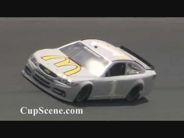 NASCAR Goodyear tire test at Daytona International Speedway, Apr. 16-17, 2013