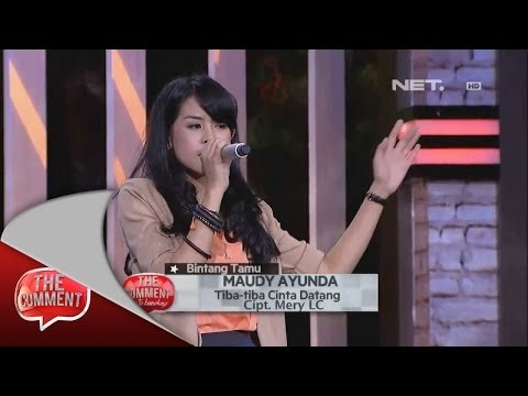 The Comment goes to bandung - The Stars - Maudy Ayunda