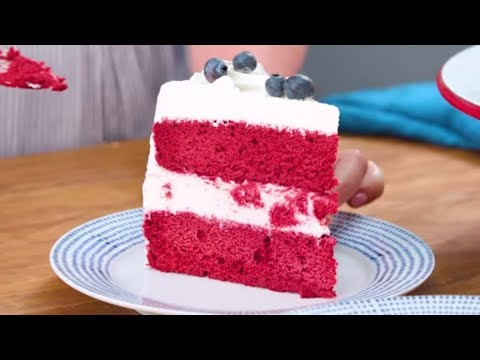 Red Velvet Ice-Cream Cake | Southern Living