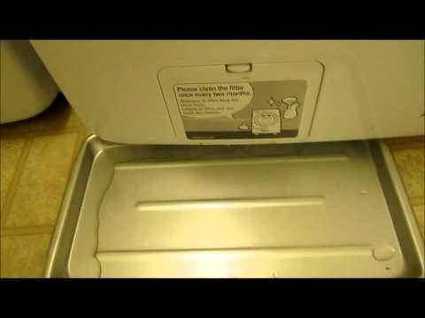 How to Clean the Samsung washing machine filter