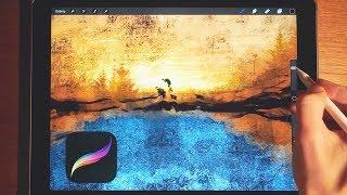 Making Art with Procreate on iPad Pro (Part 1)