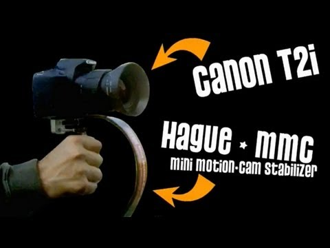 HAGUE MMC Stabilizer - Canon T2i  Steadicam Test - DSLR