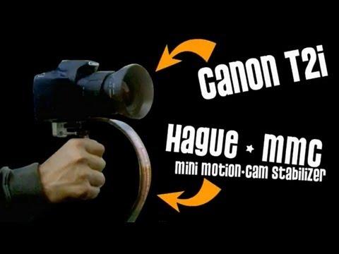 HAGUE MMC Stabilizer - Canon T2i  Steadicam Test - DSLR