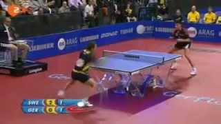 Dark side of table tennis