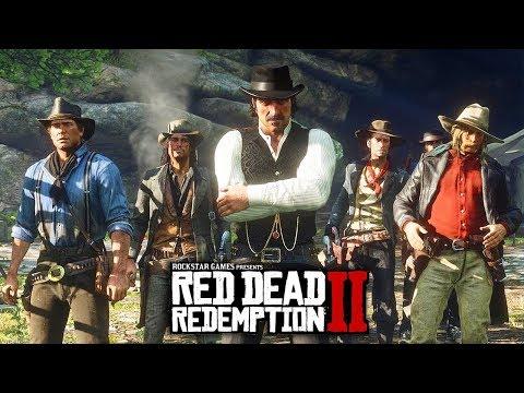Red Dead Redemption 2 - CHARACTER INFO BREAKDOWN!