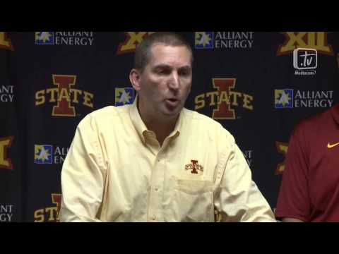 Jamie Pollard Statement Following Iowa State vs. Oklahoma State Football Game
