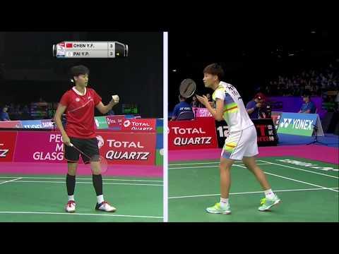 Total Bwf World Championships 2017 Badminton Day 2 M2 Ws