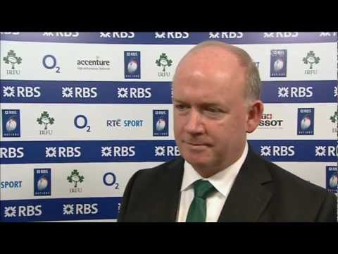 Six Nations | Ireland v France - Declan Kidney post-match reaction