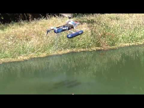 rc helicopter fishing,CATCHING A FISH