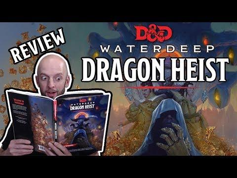Waterdeep Dragon Heist Review (D&D 5E Adventure)