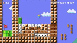 Super Mario Maker - Tetris 60fps
