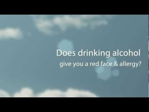 The Official No Red Face Formula | Alcohol Allergy
