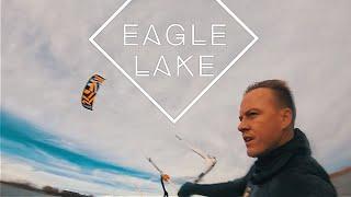 Eagle Lake - Kiteboarding - RRD 2018 Demo - 9m Passion and 13.5 Obsession