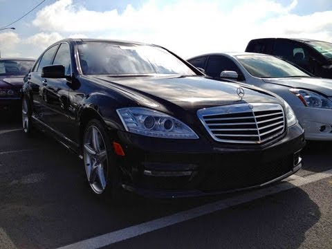 2010 Mercedes-Benz S63 AMG V8 Designo Start Up, Quick Tour, & Rev With Exhaust View - 25K