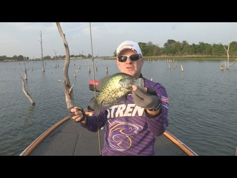 Southwest Outdoors Report #11 Lake Fork, Texas Crappie Fishing - 2013