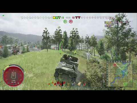 World of Tanks Xbox one Sexton I 9 Kills