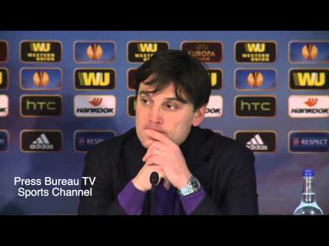Vincenzo Montella reaction Tottenham vs Fiorentina