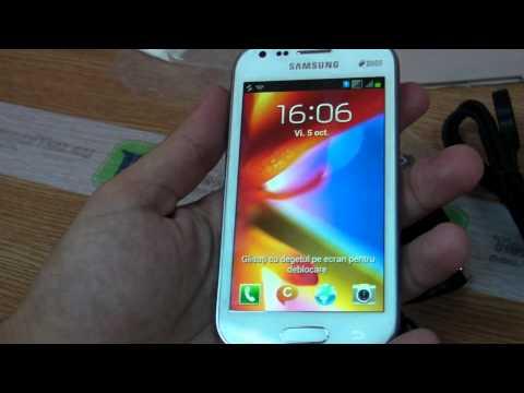Samsung Galaxy S Duos review HD ( in ROmana ) - www.TelefonulTau.eu -