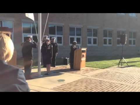 National Anthem at the Delaware Military Academy's 9/11 Ceremony