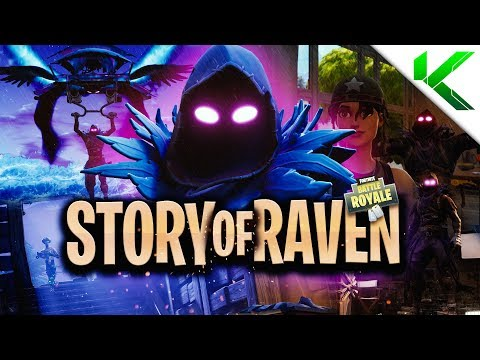THE *TRUE* STORY ABOUT RAVEN! (Short Fortnite BR Movie) - Fortnite: Battle Royale