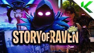 THE *TRUE* STORY ABOUT RAVEN! (Short Fortnite BR Movie) - Fortnite: Battle Royale