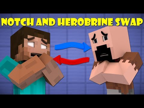 If Notch And Herobrine Swapped Bodies Minecraft