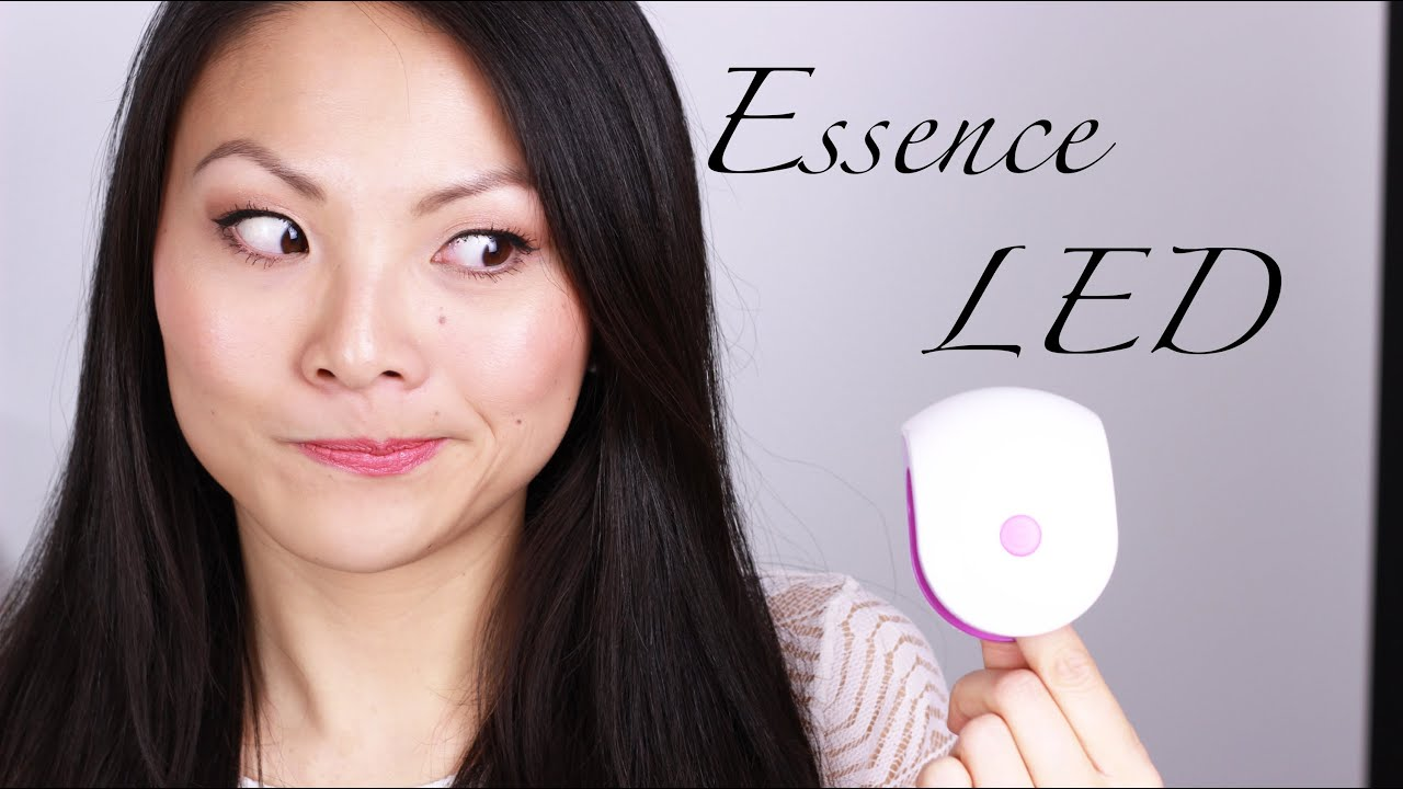 Essence Gel Nails At Home Mini LED Lampe Review + Tutorial  -> Led Lampe Von Essence