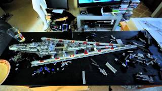 LEGO Super Star Destroyer Time Lapse