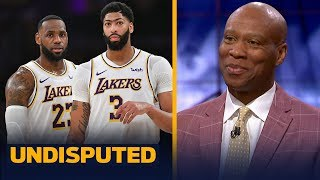 Byron Scott joins Skip and Shannon to talk LeBron and AD, state of the Lakers | NBA | UNDISPUTED