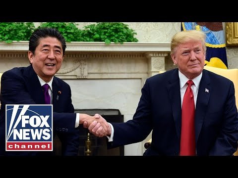 President Trump, Japan PM Abe hold bilateral meeting