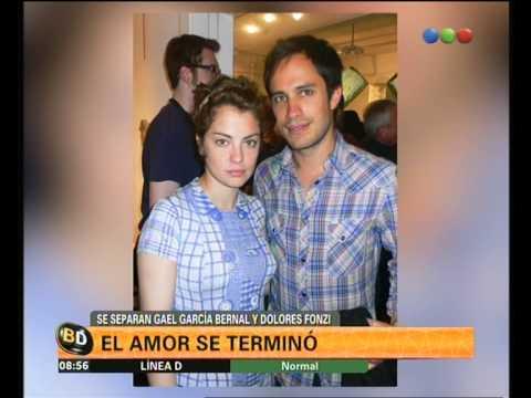 Se separaron Gael García Bernal y Dolores Fonzi - Telefe Noticias