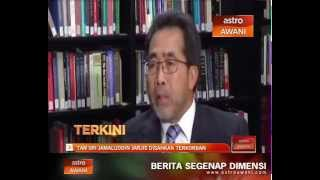 Tan Sri Jamaluddin Jarjis disahkan terkorban