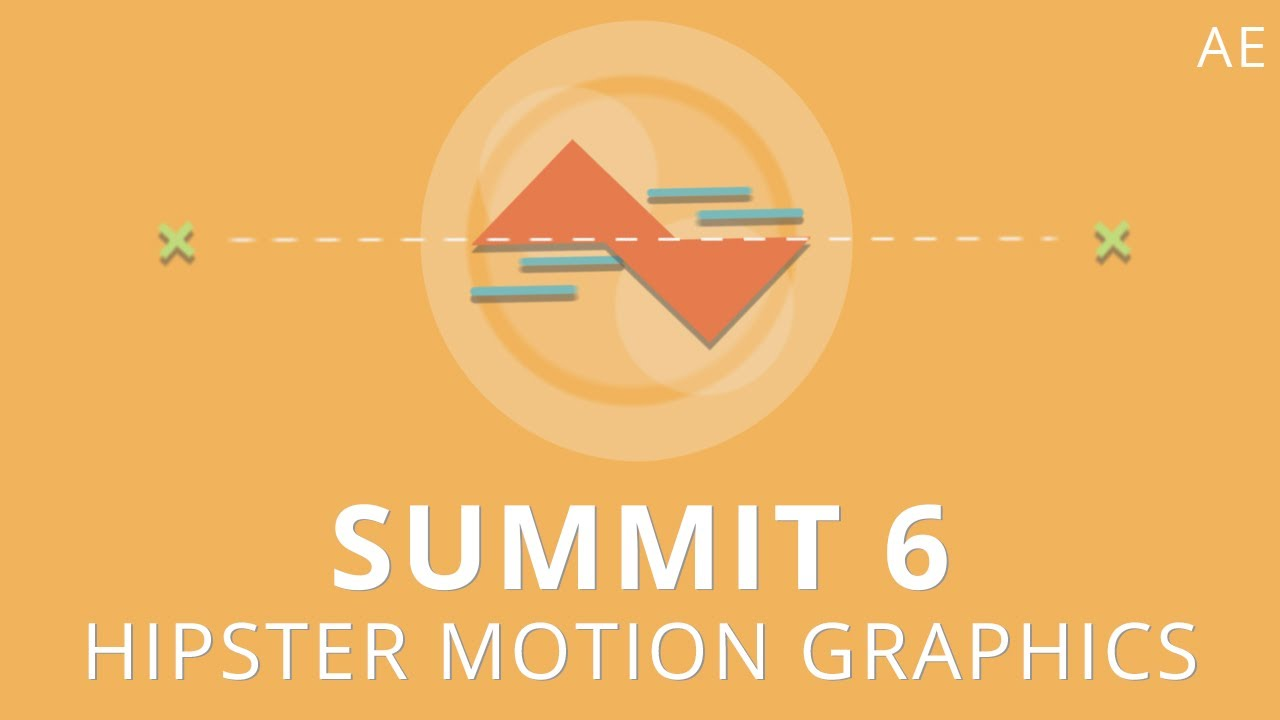 Line Art Animation After Effects : Summit hipster motion graphics after effects youtube